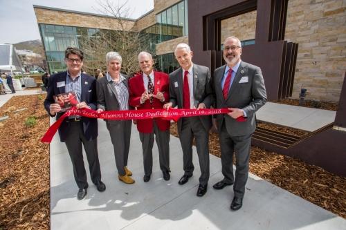 Alumni House Opening