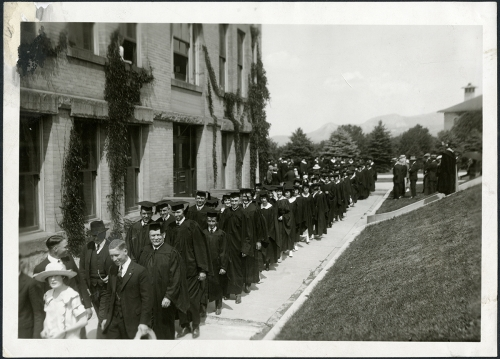 Commencement circa 1925