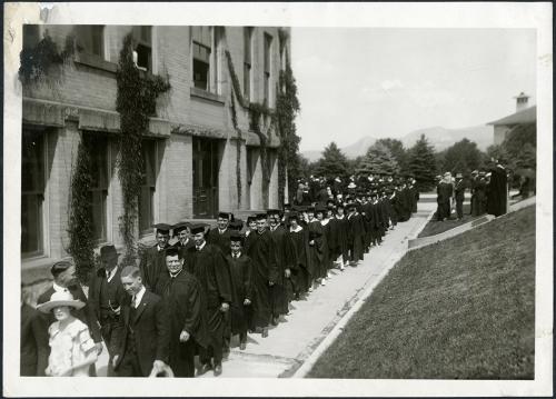 Commencement circa 1925