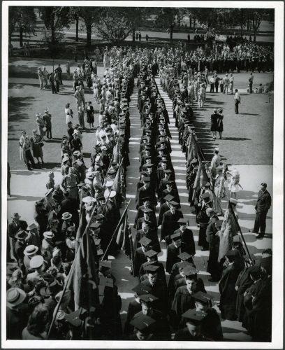 Commencement circa 1940-49