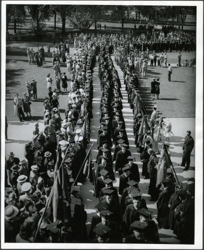 Commencement circa 1940-49