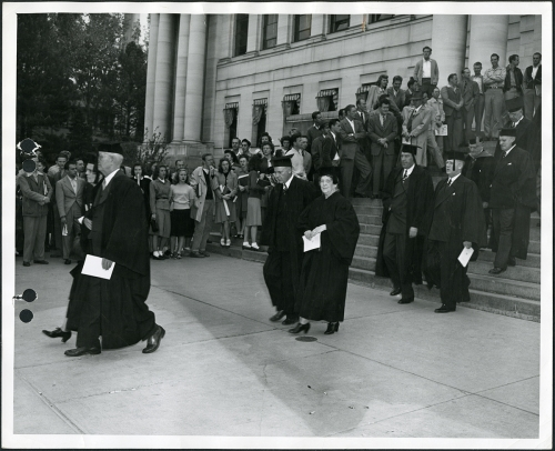 Commencement circa 1940-49 (2)