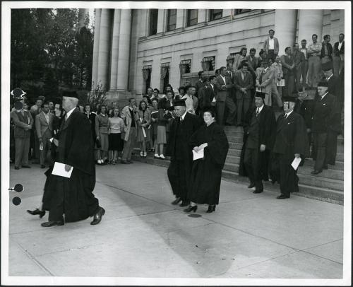 Commencement circa 1940-49 (2)
