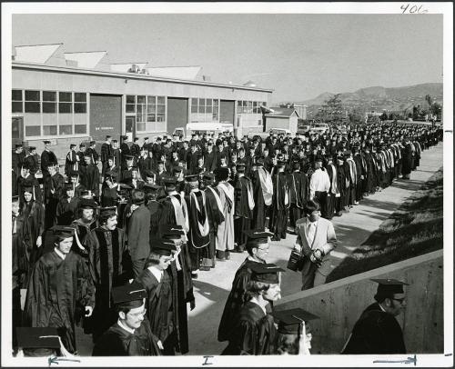Commencement circa 1970-79