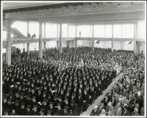 Commencement June 1929