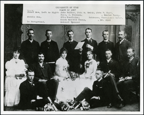 Graduating class 1887