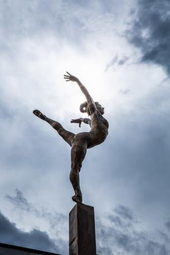 Gymnastics StatueDT