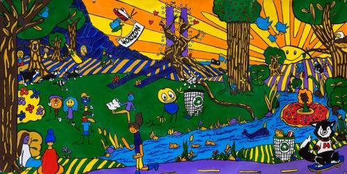 Horizon Final Mural