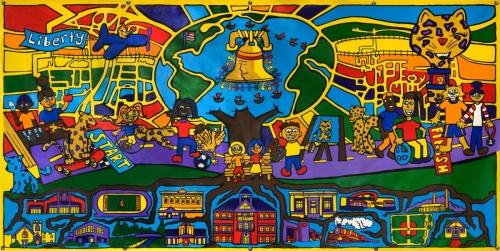 Murals Liberty