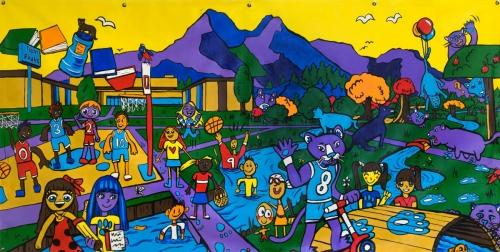 Murals Twin Peaks