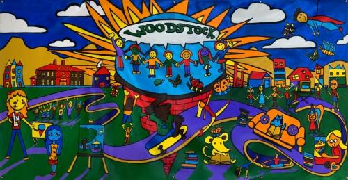 Murals Woodstock