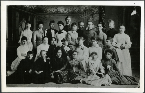 Women of 1888 graduating class